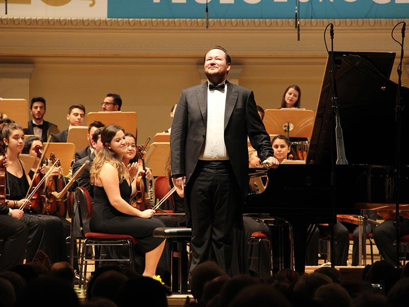 Turkish National Youth Philharmonic Orchestra in Berlin